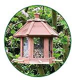Vogelfutterhaus, Vogelfutterstation 26x26x27cm aus Holz - 3