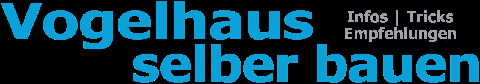 Vogelhaus selber bauen logo